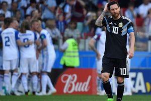 Argentina lại phải cầu nguyện chờ đấng toàn năng Messi lên tiếng