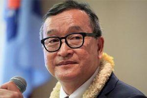 Cựu thủ lĩnh đối lập Campuchia có thể ngồi tù vì phạm tội khi quân