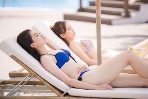 Thí sinh Hoa hậu Việt Nam 2018 căng tràn thanh xuân giữa biển trời Quy Nhơn