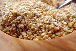 Bí quyết để món muối mè đậu phộng thơm, giòn