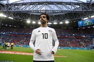 Mohamed Salah - ông 'Vua Ai Cập' đau khổ tại World Cup 2018