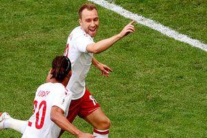 Đan Mạch vs Australia (1-1): Eriksen volley mở tỷ số sớm