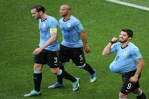 Thua Uruguay 0-1, Ả Rập Xê-út chia tay World Cup 2018 trong tuyệt vọng