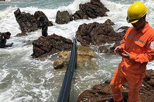 Phát hiện điểm đứt cáp ngầm, 1 tuần nữa huyện đảo Cô Tô sẽ có điện
