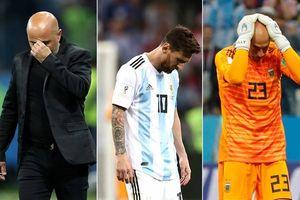 Argentina thua thảm Croatia: Đồng đội tồi, HLV dở, đừng đổ lỗi Messi!