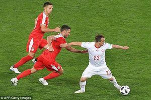 Shaqiri ghi siêu phẩm cuối trận, Thụy Sĩ lội ngược dòng trước Serbia