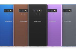 Thiết kế Galaxy Note 9 hoàn chỉnh dựa trên tin đồn