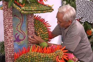 Độc, lạ nghệ thuật tạo hình của nông dân miệt vườn ĐBSCL