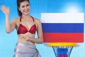 Gia thế ít biết của nữ MC bị 'ném đá' vì mặc bikini dẫn World Cup