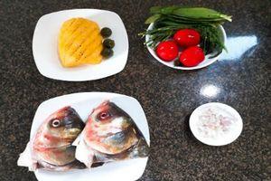 Cách nấu canh chua đầu cá chuẩn vị thơm ngon