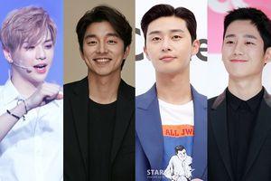 Khó tin với BXH danh tiếng thương hiệu nam người mẫu quảng cáo Hàn Quốc tháng 6