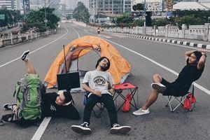 101 cảnh sống ảo của cư dân Jakarta khi thành phố không người