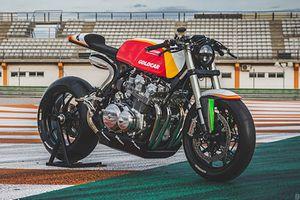 Honda CB750 độ phong cách xe đua Cafe Racer Ducati
