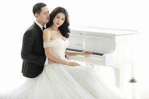 Trang Trần tung ảnh cưới tuyệt đẹp cùng ông xã Việt kiều