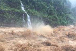 Hình ảnh mưa lũ kinh hoàng ở các tỉnh miền núi phía Bắc