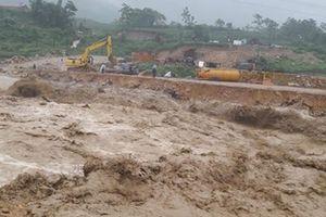 Hiện trường tan hoang vì mưa lũ ở các tỉnh miền núi phía Bắc