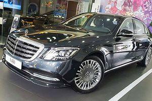Mercedes-Benz S450L giá 4,7 tỷ độ mâm Maybach tại Việt Nam