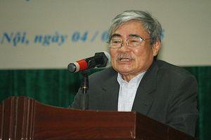 Nhà thơ Nguyễn Duy: 'Tôi bất ngờ vì tác phẩm được đưa vào đề thi THPT quốc gia'