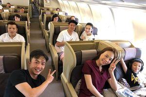Cường Đô La lần đầu đăng ảnh Thu Trang và con trai Subeo đi du lịch