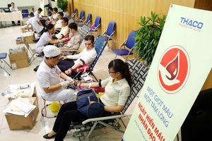 THACO tổ chức hiến máu nhân đạo lần thứ 12 năm 2018
