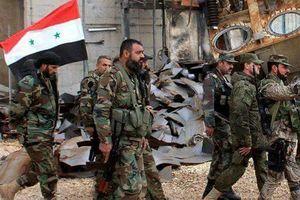 Quân đội Syria giành lại thị trấn lớn đầu tiên ở khu vực Tây Nam