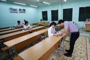 Hà Nam, Nam Định: Vắng 113 thí sinh ngày thi cuối