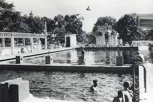 Ảnh độc về hồ bơi Đô Thành trứ danh Sài Gòn xưa