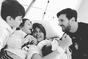 Vợ Messi: 'Cảm ơn vì khiến em là người phụ nữ hạnh phúc nhất thế gian'