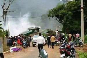 Hàng trăm cảnh sát dùng xe bọc thép vây bắt ma túy tại Sơn La
