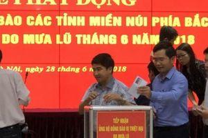 Trước hội nghị sơ kết, Bộ NNPTNT phát động ủng hộ đồng bào vùng lũ