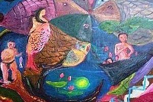 Triển lãm tranh 'Ngày mới 2018' của các họa sĩ khuyết tật