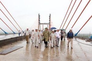 Dự án cầu Bạch Đằng nối Hải Phòng với Quảng Ninh lại chậm tiến độ 1 tháng