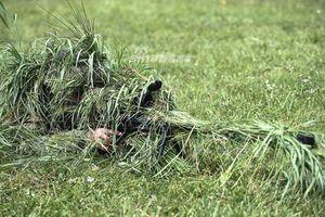 Cận cảnh khả năng ngụy trang tác chiến của lính bắn tỉa Nga