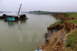Tái diễn nạn khai thác khoáng sản trái phép ở Phú Thọ