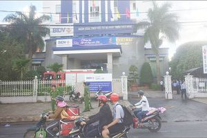 Cháy lớn tại Ngân hàng BIDV chi nhánh Gia Lai