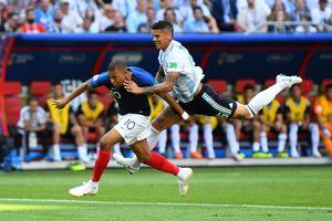 Mbappe từng chạy gần bằng Usain Bolt trước khi hành hạ Argentina