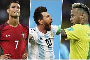 10 cầu thủ có 'đôi chân ma thuật' ở World Cup: Có Messi, không Ronaldo