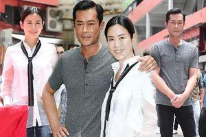 Cổ Thiên Lạc tình tứ khoác vai Tuyên Huyên trong lễ khai máy phim điện ảnh 'Phạm tội hiện trường'