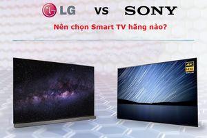 LG và Sony: Nên chọn Smart TV của hãng nào?
