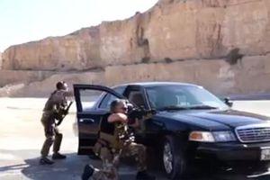 Mừng sinh nhật, cha con Quốc vương Jordan bắn súng, ném lựu đạn như trong phim hành động