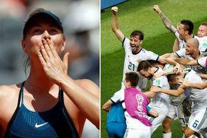 Mỹ nhân quần vợt, hoa hậu World Cup mừng chiến tích lịch sử của Nga