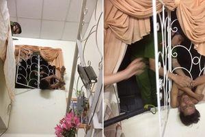 Tên trộm trần truồng mắc ở cửa sổ: Lý lẽ thoát y