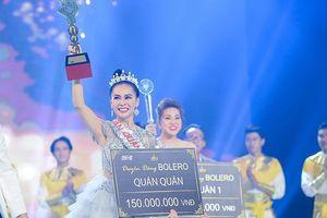 Mỹ Ngọc đăng quang quán quân 'Duyên dáng Bolero 2018'