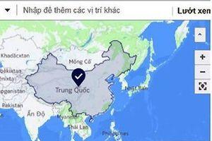 Facebook lên tiếng về lỗi hiển thị 2 quần đảo Hoàng Sa, Trường Sa của Việt Nam