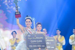 Trần Mỹ Ngọc đăng quang Quán quân Duyên dáng Bolero 2018