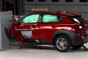 Hyundai Kona 2018 trượt khỏi danh sách các mẫu xe an toàn hàng đầu của IIHS