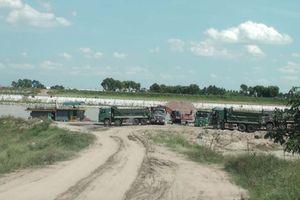 Xã Tân Chi (Tiên Du, Bắc Ninh): Bãi trung chuyển vật liệu xây dựng Hòa Trâm hoạt động trái phép, dân khốn khổ