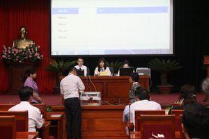 Quận Hoàng Mai: Đấu giá thành công quyền sử dụng ô đất nhà vườn thuộc khu di dân Đền Lừ III