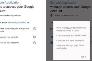 Người dùng Gmail bị lộ thông tin vì Google