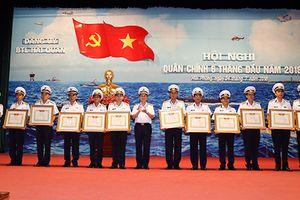 Đảng ủy, Bộ tư lệnh Hải quân tổ chức Hội nghị Quân chính 6 tháng đầu năm 2018